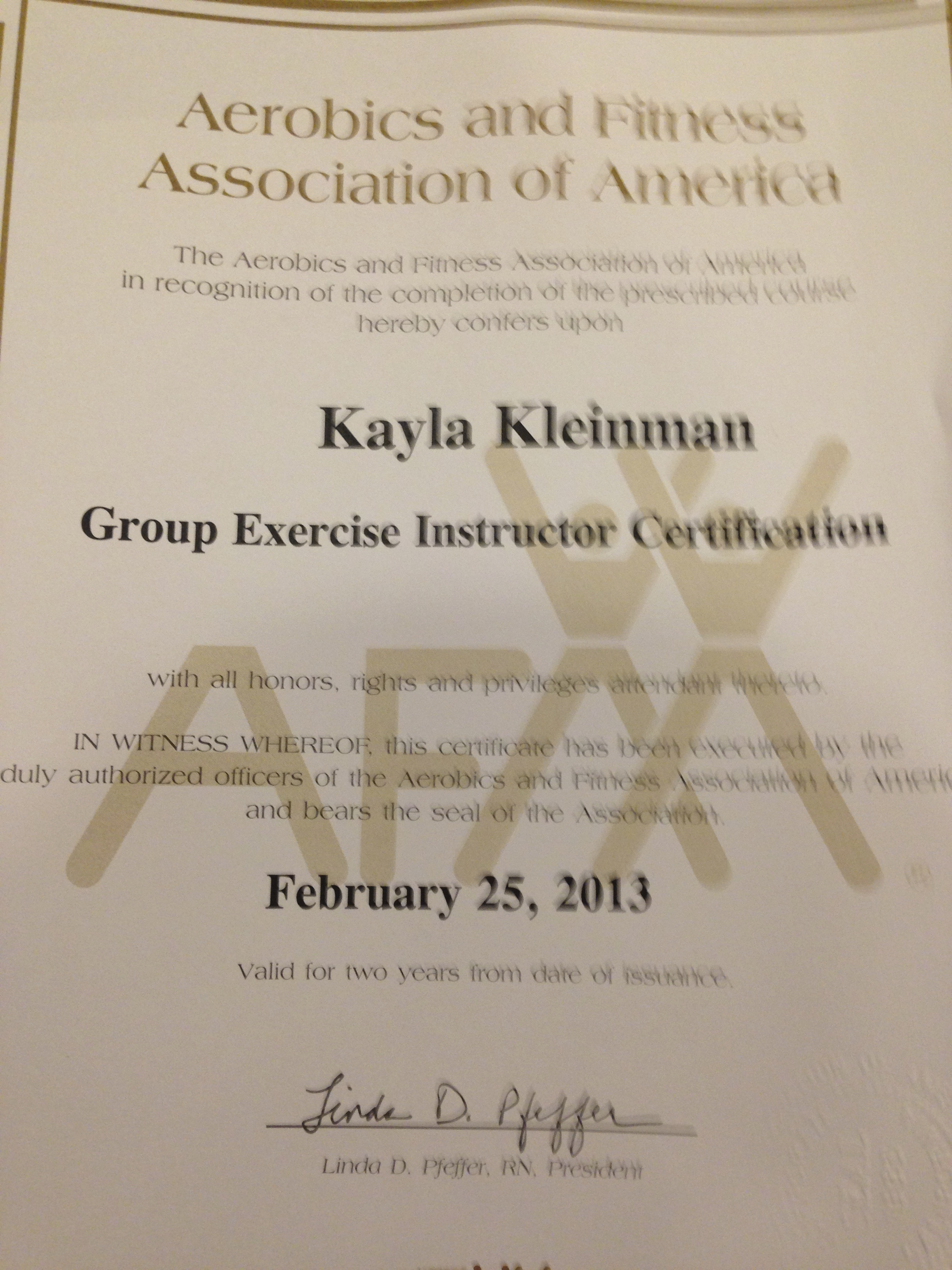 Fitness Certifications FAQ - Kayla in the City