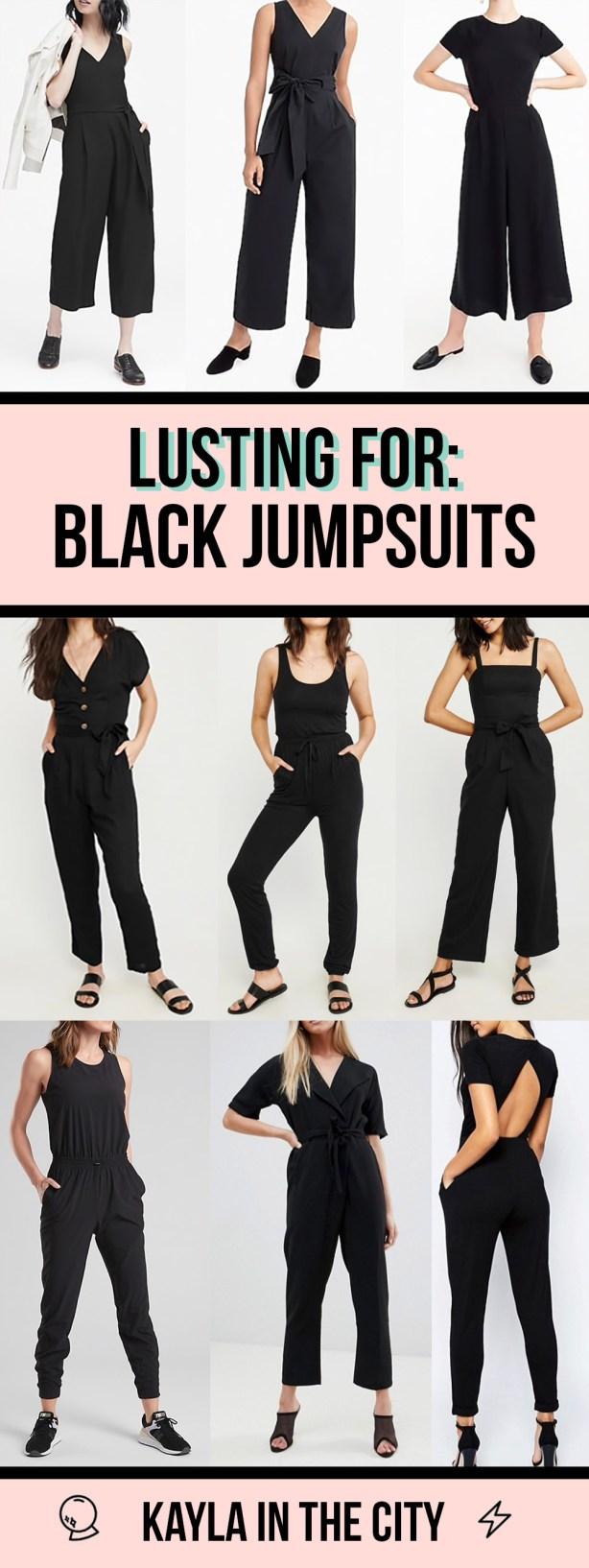 black jumpsuits for spring