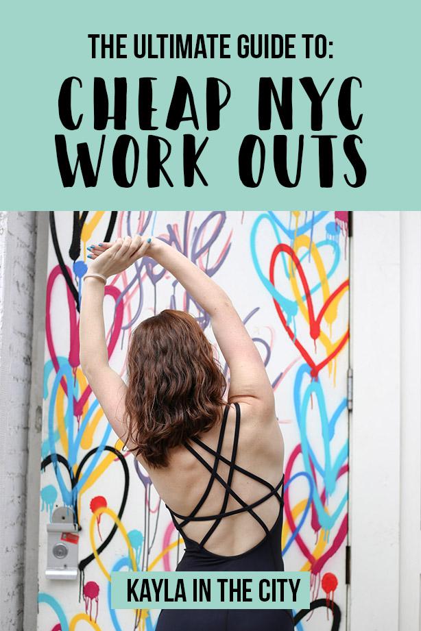 nyc free workouts cheap workouts nyc
