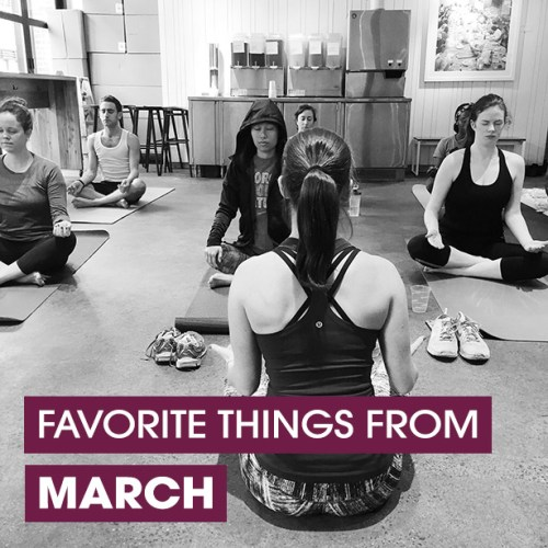 favorite things from march
