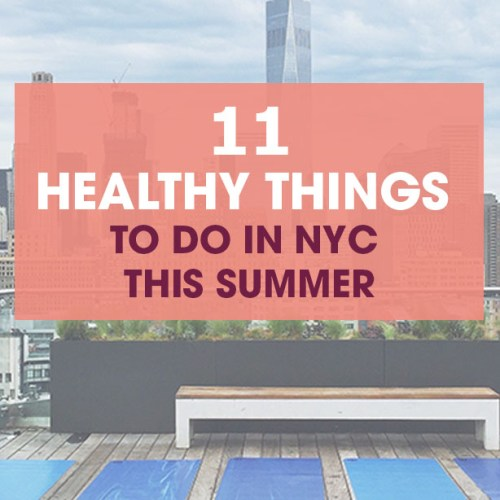healthy summer nyc