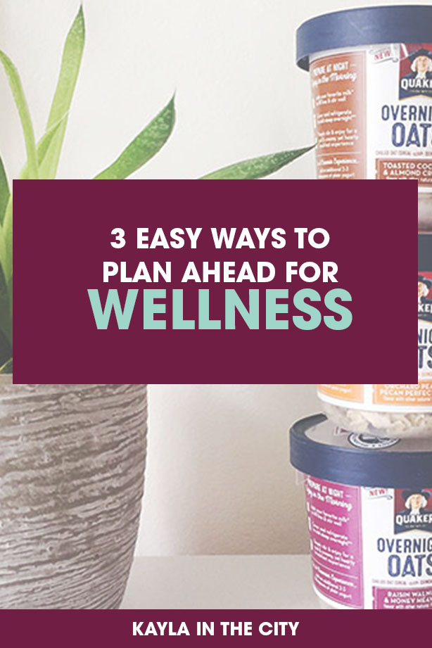 plan ahead for wellness