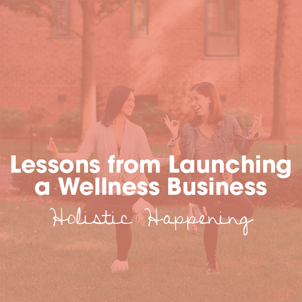 lessons from launching a wellness business