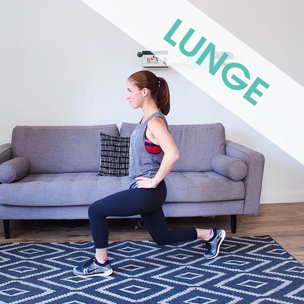 lunge correct