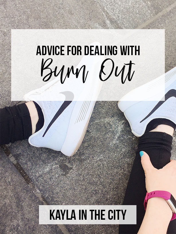 dealing with burn out