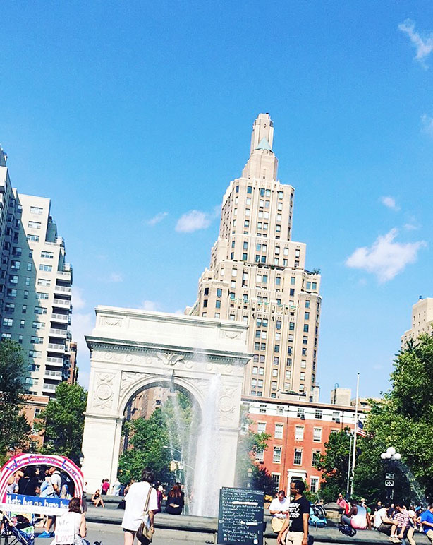 NYC | greenwich village | washington square park | reflections on 9 years in new york | new yorker | new york native