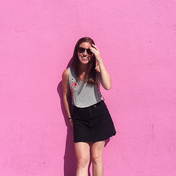 pink wall LA