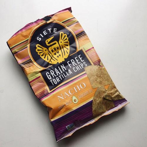siete foods nacho tortilla chips