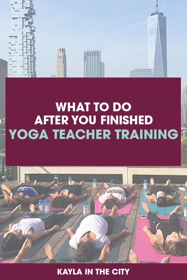 What To Do After You Finish Your 200 Hour Yoga Teacher Training