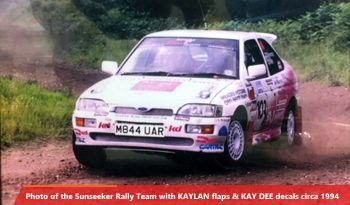 Sunseeker rally mudflaps circa 1994