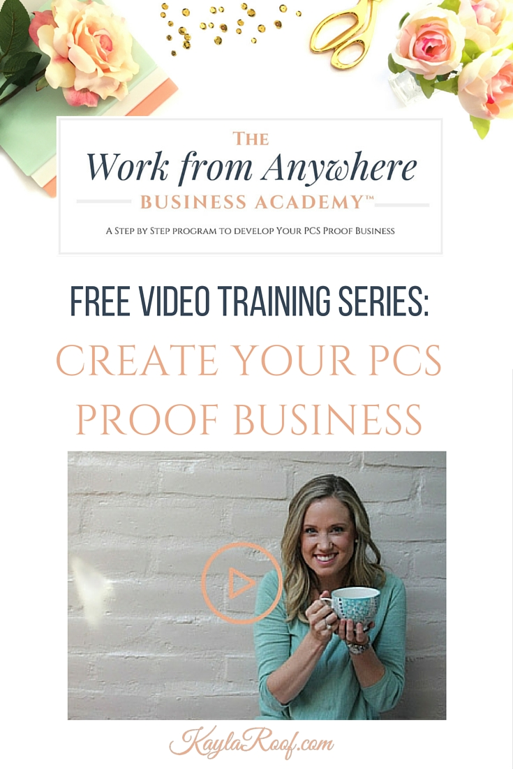 If you've thought about starting a blog, you totally should! But, before you do, make sure you watch this video to find out what you MUST do FIRST. |Kayla Roof Business Advisor for Ambitious Military Spouses