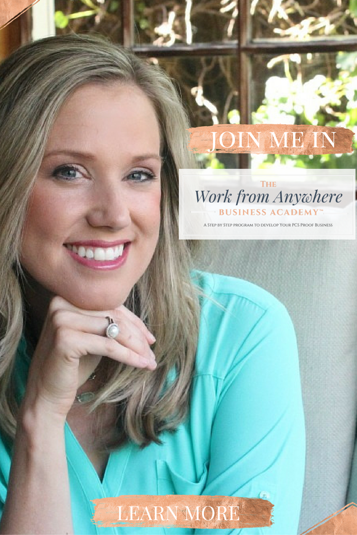 Join Me in The Work from Anywhere Business Academy