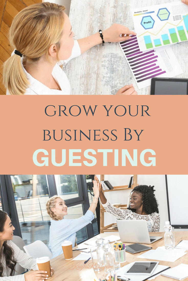 Grow Your Business By Guesting |Find all of the different ways you can grow your business with Guesting! SAVE THIS