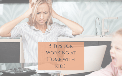 5 Tips for Working with the Kids at Home this Summer