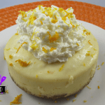 Citrus Mini Cheesecakes cooked in a pressure cooker