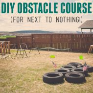 Boy's Army Birthday Party | DIY Army Obstacle Course for Cheap