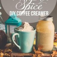 Pumpkin Spice Coffee Creamer | DIY Fall Recipes