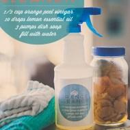 DIY Natural Household Cleaner   Orange Peel Magic!