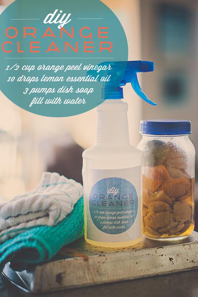 Orange Peel Kitchen Cleanser Cleaner-11