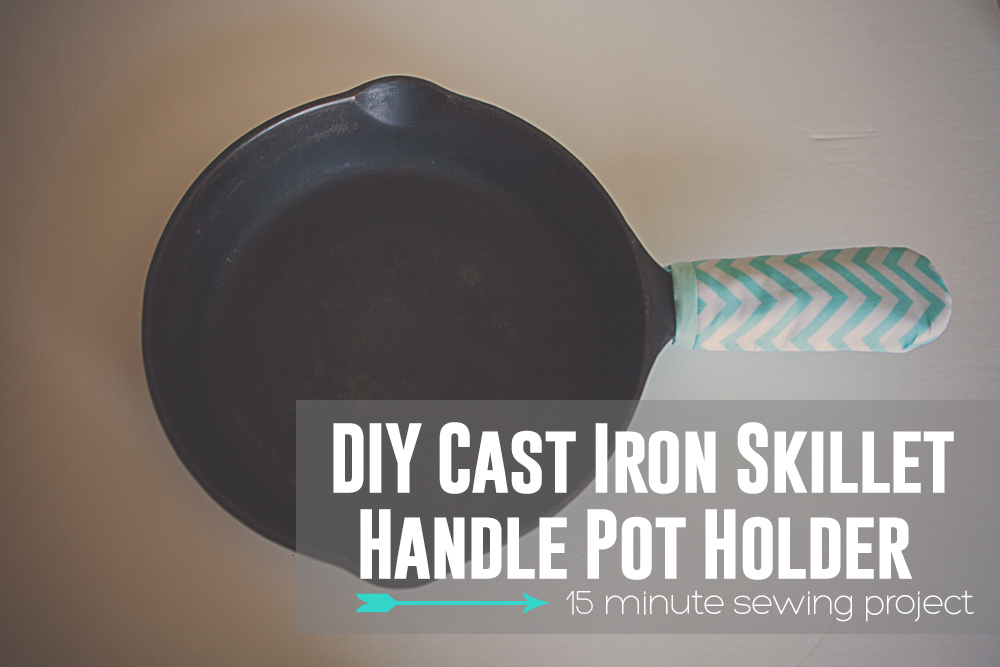 Cast Iron Skillet Handle Pot Holder