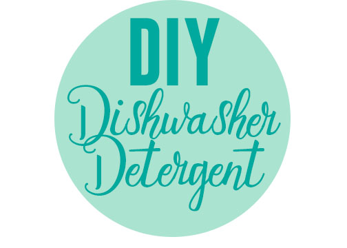 homemade dishwasher soap