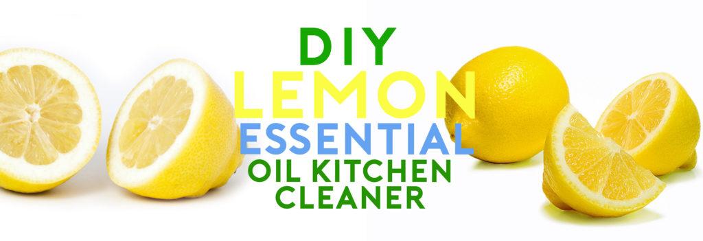 DIY Natural Kitchen cleaner