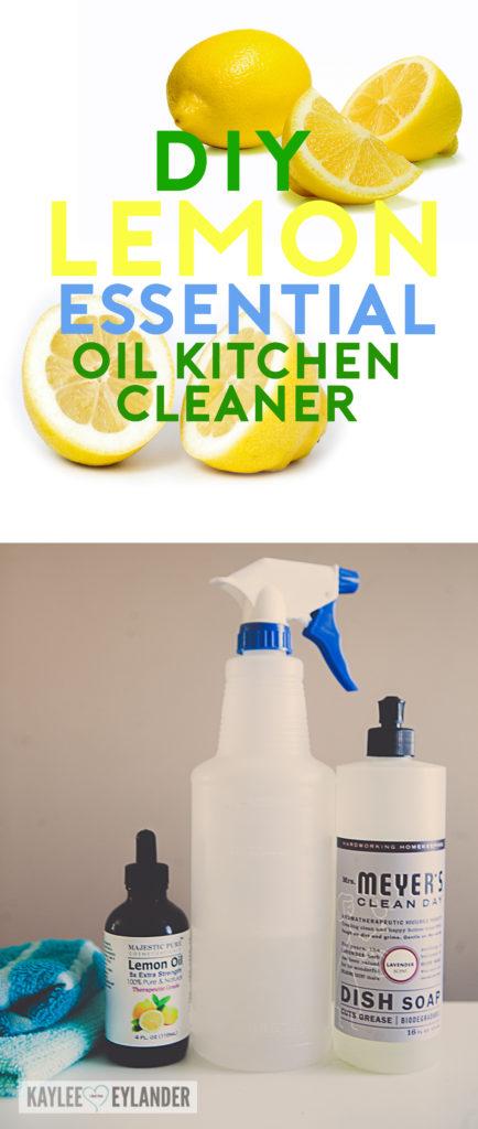 DIY Natural Cleaner Essential Oils