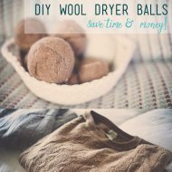 DIY Wool Dryer Balls | Save Time & Money