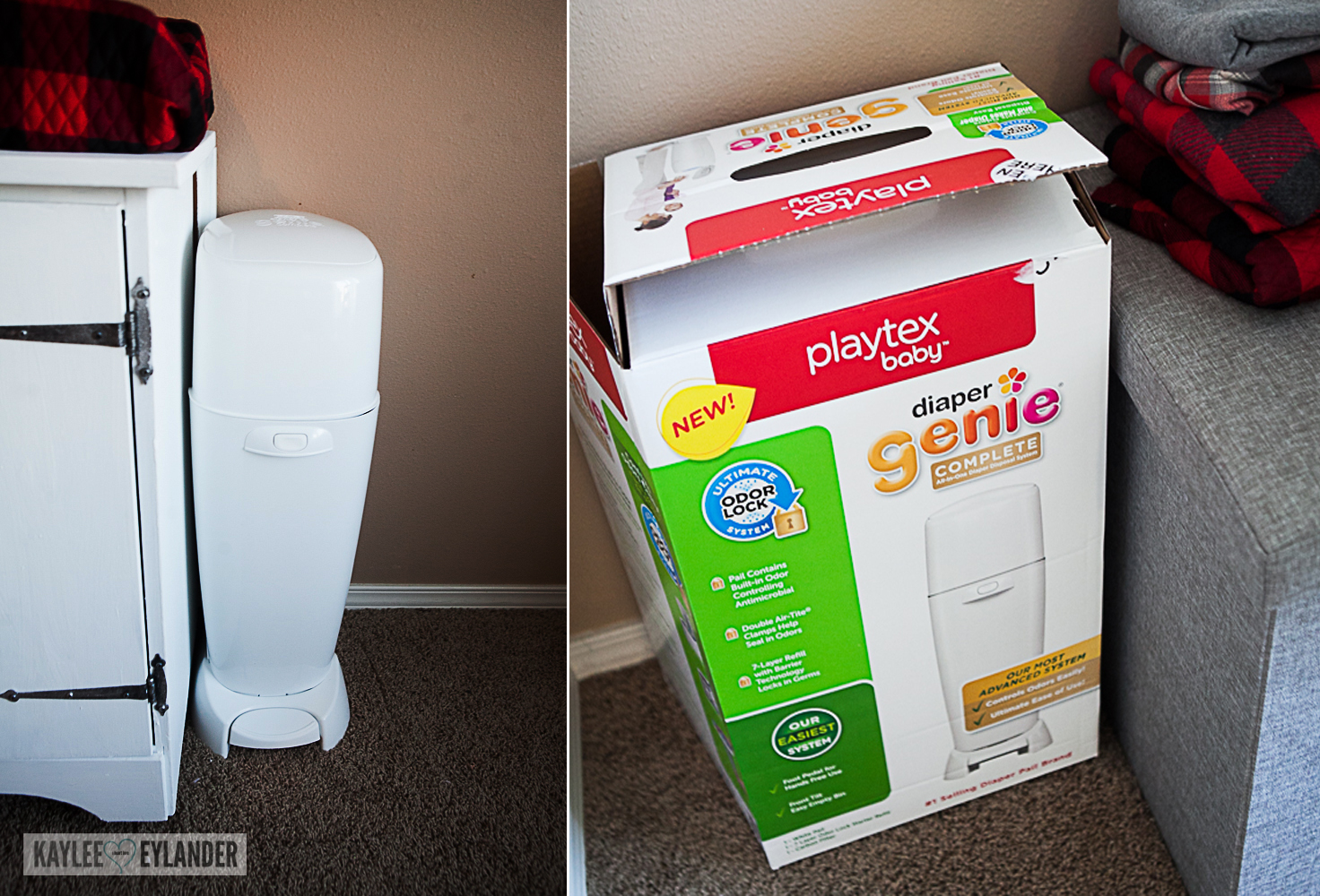 DIY Chalkpaint changing table from dresser-11
