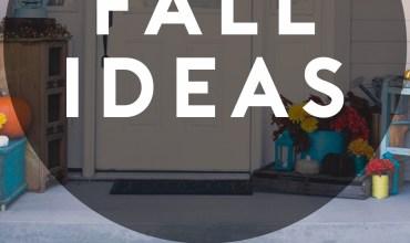 DIY Fall Ideas – Recipes & Decor Ideas