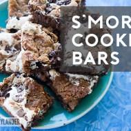 Smore's Bars | Easy Summer Dessert Recipes