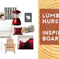 Lumberjack Nursery Inspiration Board