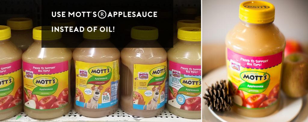 Mott's Apple Sauce Cake