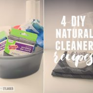 Clean Your Home Naturally | 4 DIY Natural Cleaners