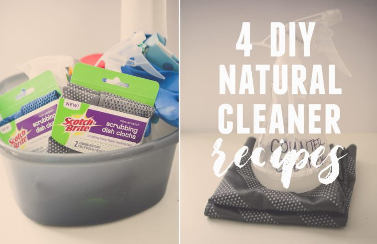 Clean Your Home Naturally   4 DIY Natural Cleaners