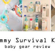 Newborn Mommy Survival Kit   Babygear Review