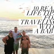 10 Tips for Airplane Travel with Babies | Traveling Families