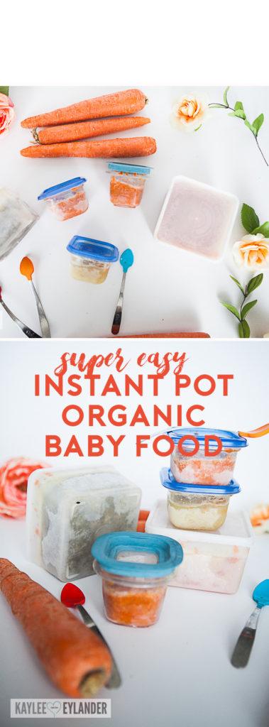 pressure cooker baby food recipe