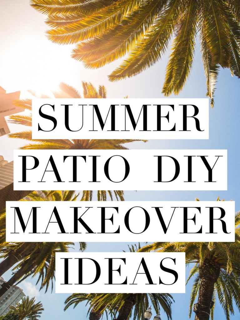 Patio inspiration Patio inspiration Summer Patio DIY Makeover Ideas Kaylee Eylander DIY  DIY Summer Backyard patio ideas Makeover inspiration