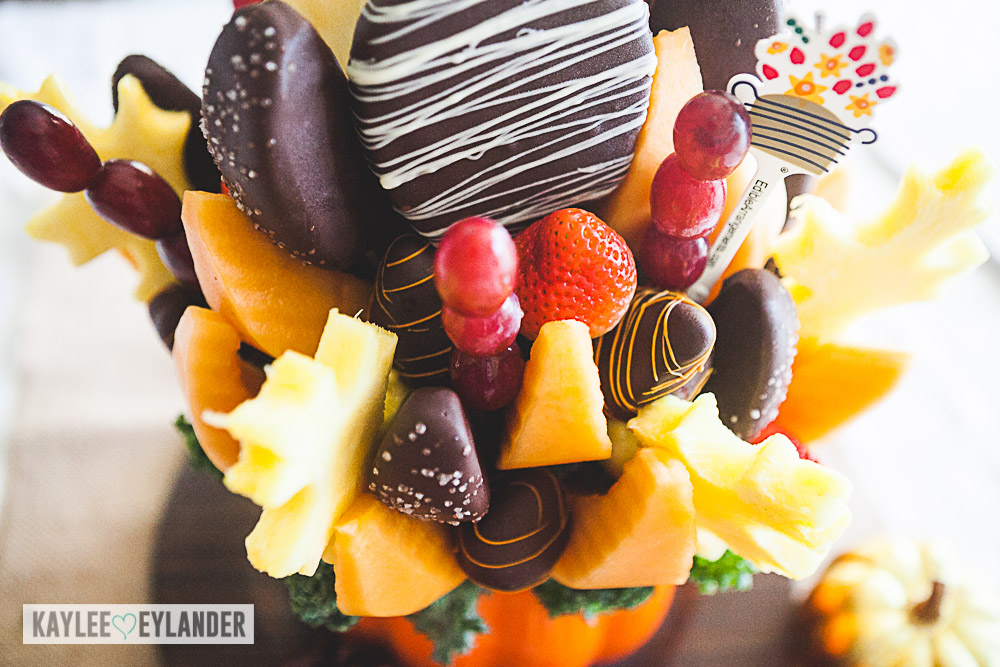 Edible Arrangements Salted Caramel Harvest Bouquet™ Orange Swizzle Berries®