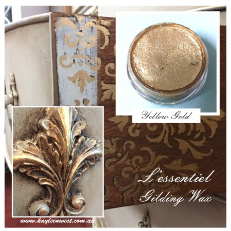 L'essentiel Gilding Wax Yellow Gold
