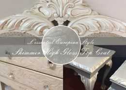Specialty paint finishes Upcycled Beauty