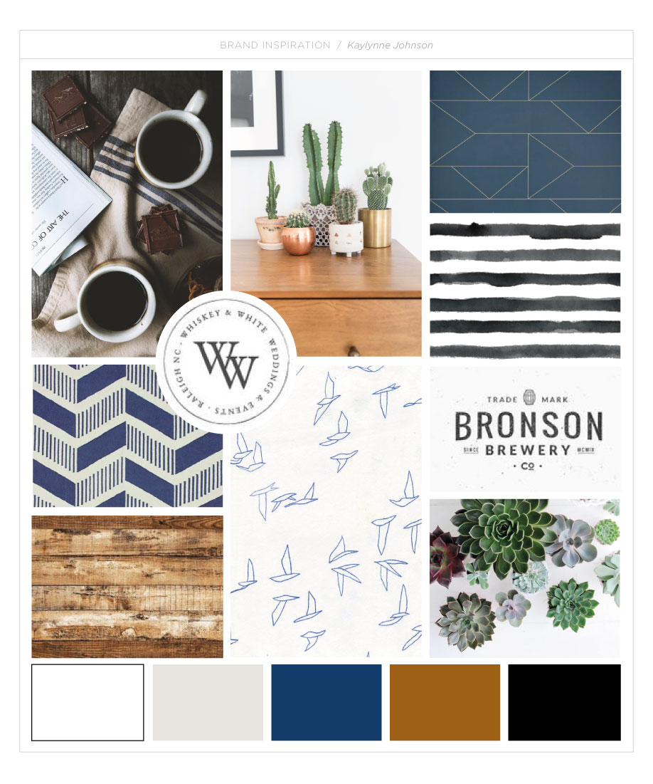 Kaylynne Johnson - web & design moodboard