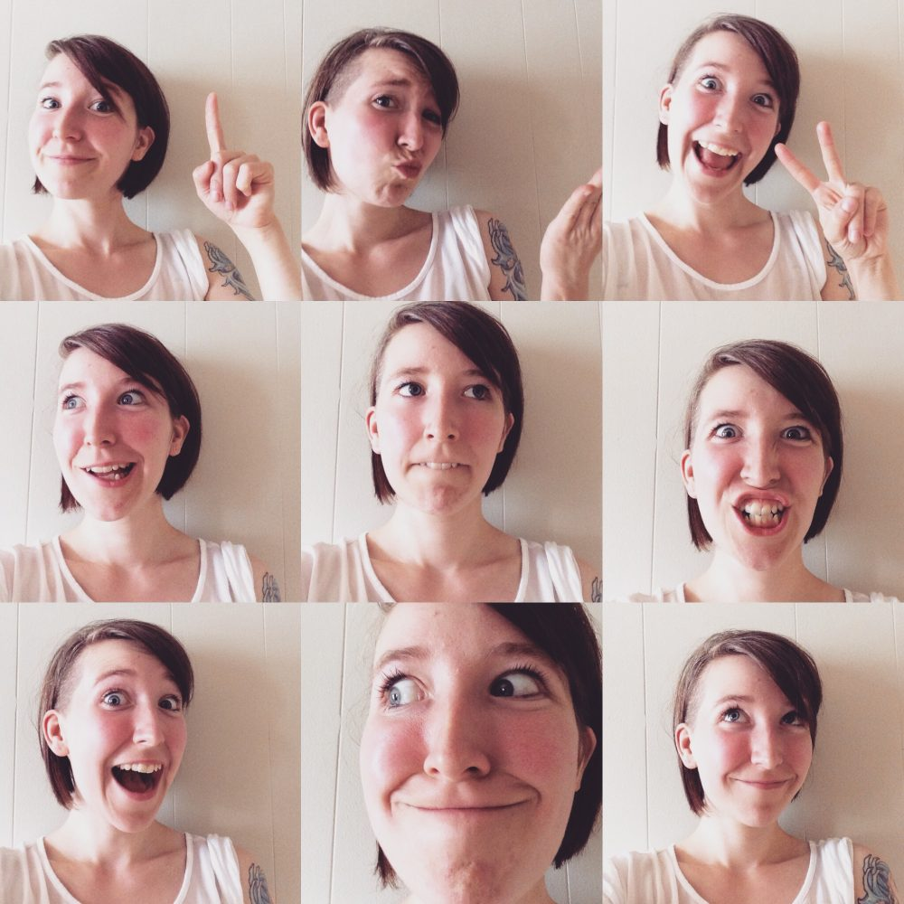 Ma grosse face | Design by Kaylynne Johnson - web & design | www.kaylynnejohnson.com