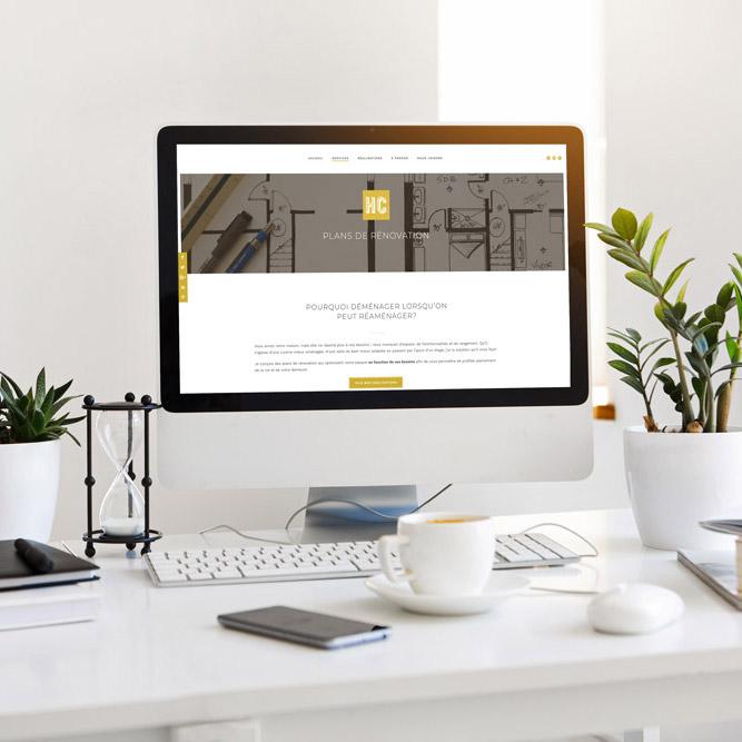 HC Concept - Site web - Réalisé par Kaylynne Johnson - www.kaylynnejohnson.com