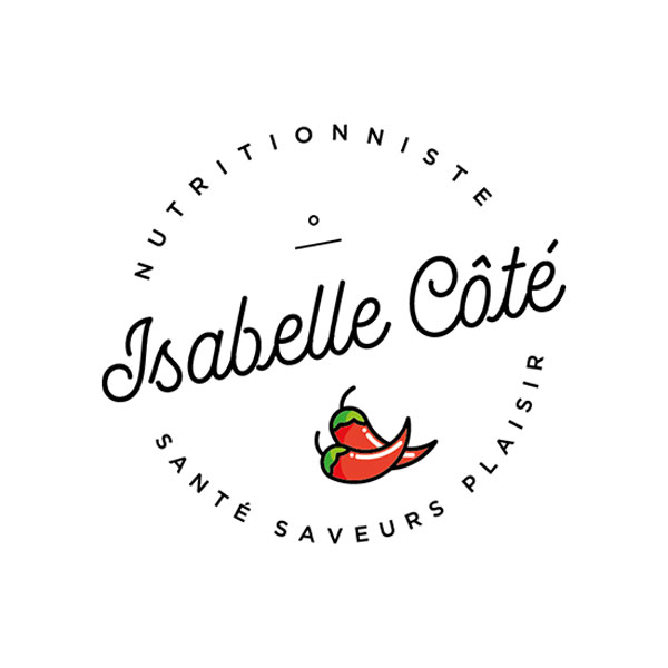 Isabelle Côté Nutritionniste - Branding par Kaylynne Johnson - web & design