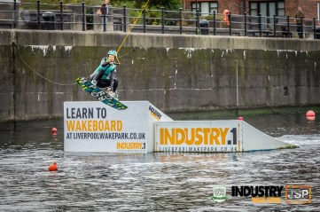 Kay from Kay Ransom Photography Competing in wakeboarding