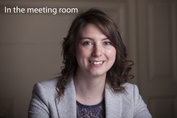 Headshot photography - in the meeting room