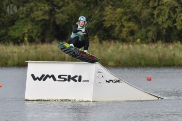 Wakeboarding at WMSki the Cotswolds