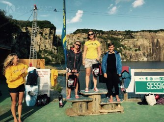 Kernow Wake Park 1st place ladies rookies